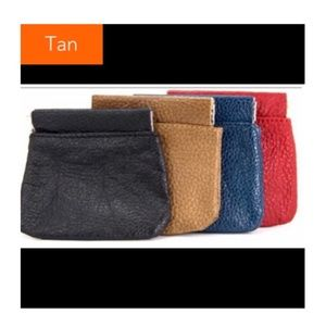 🎉3/$21🎉 Tan Squeeze Coin Pouch